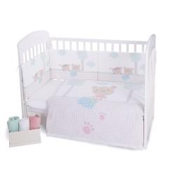 Kikkaboo Бебешки спален комплект 2 части EU style 60/120 Fantasia