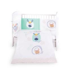 Бебешки спален комплект 2 части EU style 70/140 New Friends