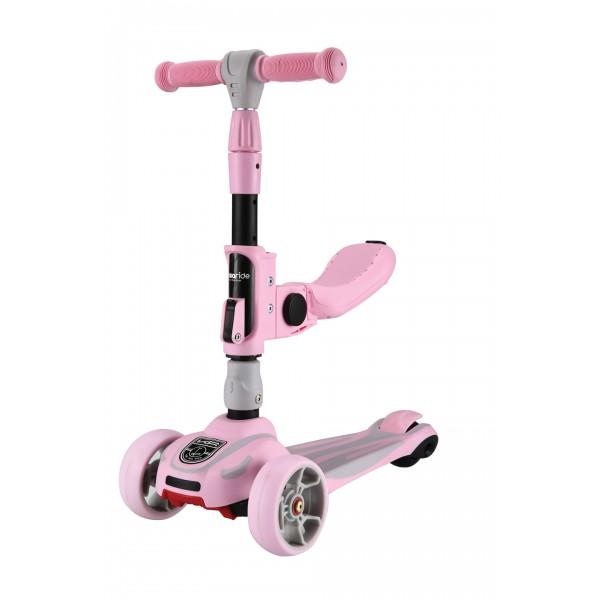 Kikkaboo Тротинетка Roadster 3 in 1 Pink 2020
