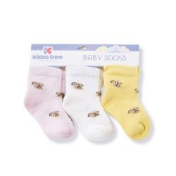 Бебешки памучни термо чорапи SQUIRREL PINK 2-3 години