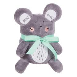 Бебешко одеяло с 3D бродерия Mouse
