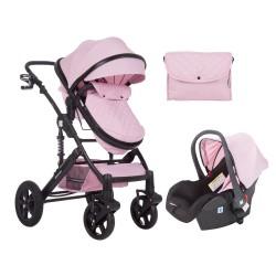 Комбинирана количка 3 в 1 с трансф.седалка Darling Pink 2020