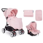Kikkaboo Комбинирана количка 2 в 1 Airy Pink