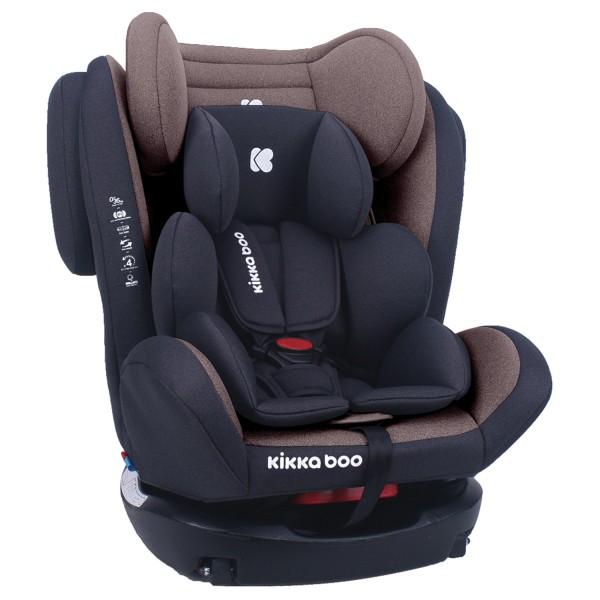 Стол за кола 0-1-2-3 (0-36 кг) 4 Fix DOUBLE ISOFIX Brown 2020
