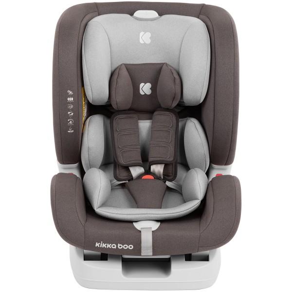 Kikkaboo Стол за кола 0-1-2-3 (0-36 кг) 4in1 ISOFIX Brown 2020