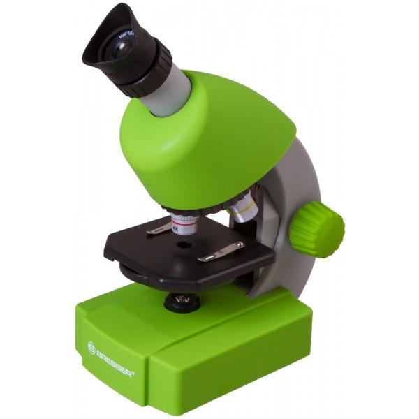 Bresser Junior 40–640x Microscope, green