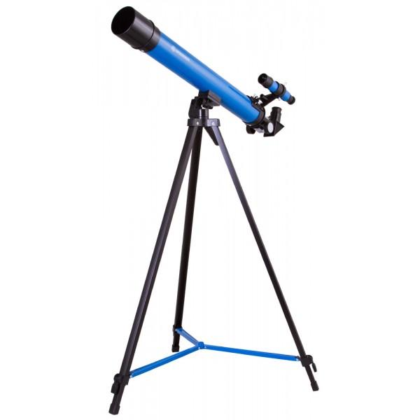 Bresser Junior Space Explorer 45/600 AZ Telescope, blue