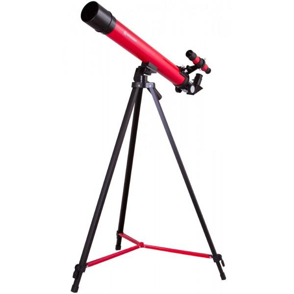Bresser Junior Space Explorer 45/600 AZ Telescope, red