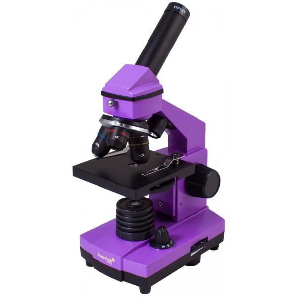Микроскоп Levenhuk Rainbow 2L PLUS Amethyst  (Аметист)