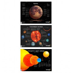 Комплект космически плакати Levenhuk