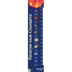 """Линия за измерване на растежа """"Посегни към Слънцето"""" Levenhuk"""