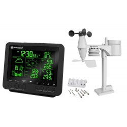 Bresser 5-in-1 Weather Station with Colour Display, black