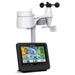 Bresser 5-в-1 метеорологична станция с цветен дисплей,  черна