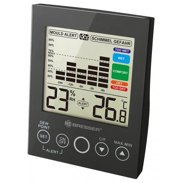 Bresser Mould Alert Hygrometer, black