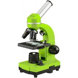 Микроскоп Bresser Junior Biolux SEL 40–1600x, зелен