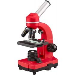 Микроскоп Bresser Junior Biolux SEL 40–1600x, червен