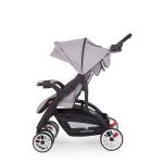 Kikkaboo Бебешка лятна количка Airy Light Grey