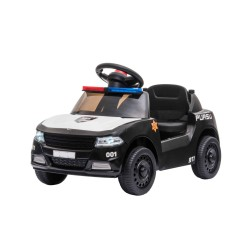 Kikkaboo Акумулаторна кола Little Cop Black