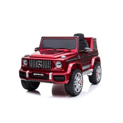 Kikkaboo Акумулаторна кола Licensed Mercedes AMG G63 Red SP