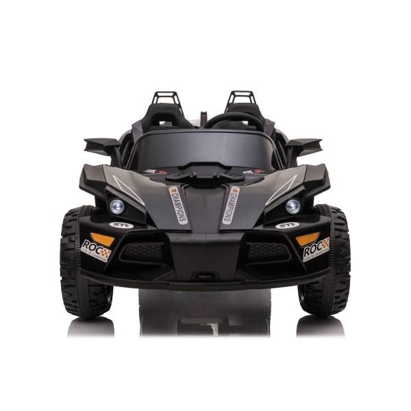 Kikkaboo Акумулаторна кола за две деца Volcano Black