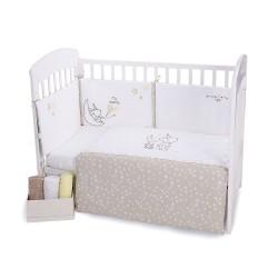 Бебешки спален комплект 2 части EU style 70/140 бродерия Little Dreamer Stars