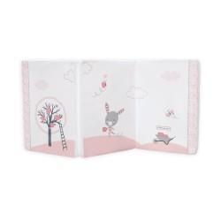 Сгъваем матрак 60/120/5 cm Pink Bunny