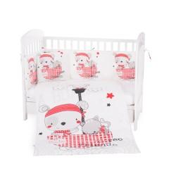 Бебешки спален комплект 6 части 70/140 Pirates