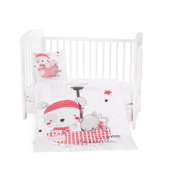 Бебешки спален комплект 5 части Pirates