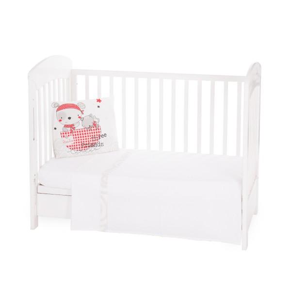 Бебешки спален комплект 3 части EU style 70/140 Pirates
