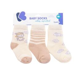 Бебешки памучни термо чорапи Dreamy Flight 0-6 месеца