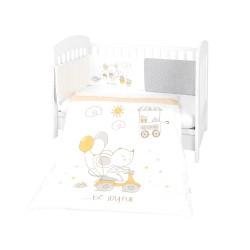 Kikkaboo Бебешки спален комплект 2 части EU style 60/120 Joyful Mice