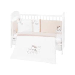 Бебешки спален комплект 6 части 70/140 с бродерия Dreamy Flight