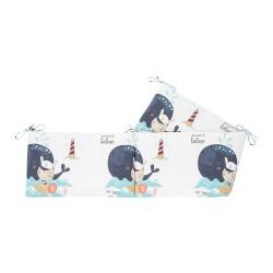 Обиколник с вата Happy Sailor 210см