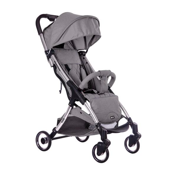 Kikkaboo Бебешка лятна количка Cloe Light Grey 2020