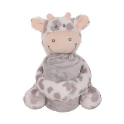 Kikkaboo Сет играчка с одеяло Cow