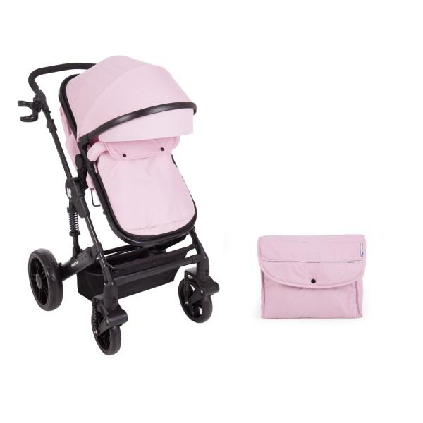 Комбинирана количка 2 в 1 с трансф.седалка Darling Pink 2020