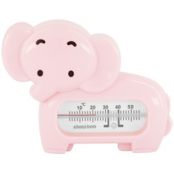 Термометър за баня Elephant Pink