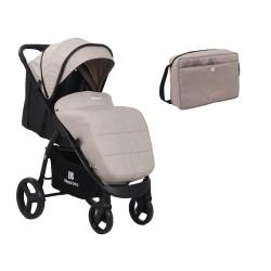 Kikkaboo Бебешка лятна количка EVA Beige 2020
