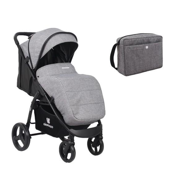 Kikkaboo Бебешка лятна количка EVA Grey 2020