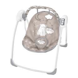 Kikkaboo Бебешка люлка Felice Grey Bear 2020
