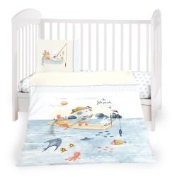 Бебешки спален комплект 3 части The Fish Panda