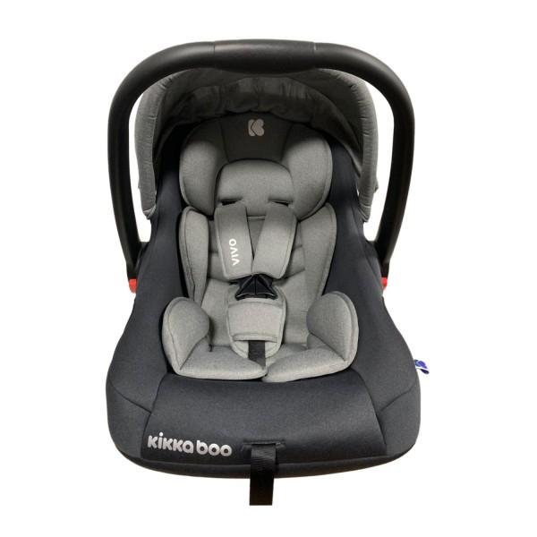 Kikkaboo Стол за кола 0+ (0-13кг) Vivo Grey