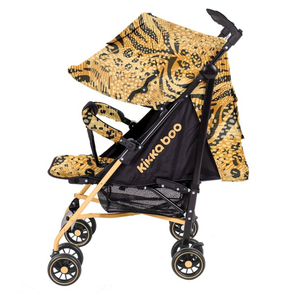 Kikkaboo Бебешка лятна количка Guarana Yellow 2020