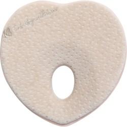 Мемори ергономична възглавница Heart Beige Velvet