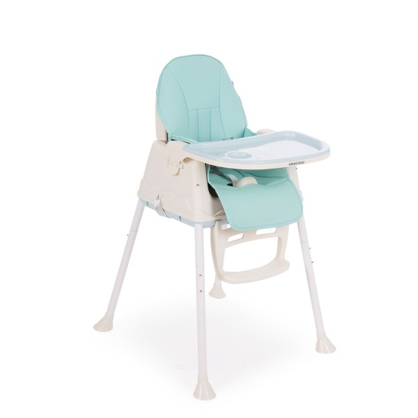 Kikkaboo Стол за хранене Creamy 2в1 Blue