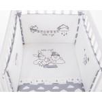 Бебешки спален комплект 2 части EU style 70/140 бродерия Little Angel Clouds