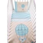 Kikkaboo Бебешки спален комплект 3 части Puppy on Balloon