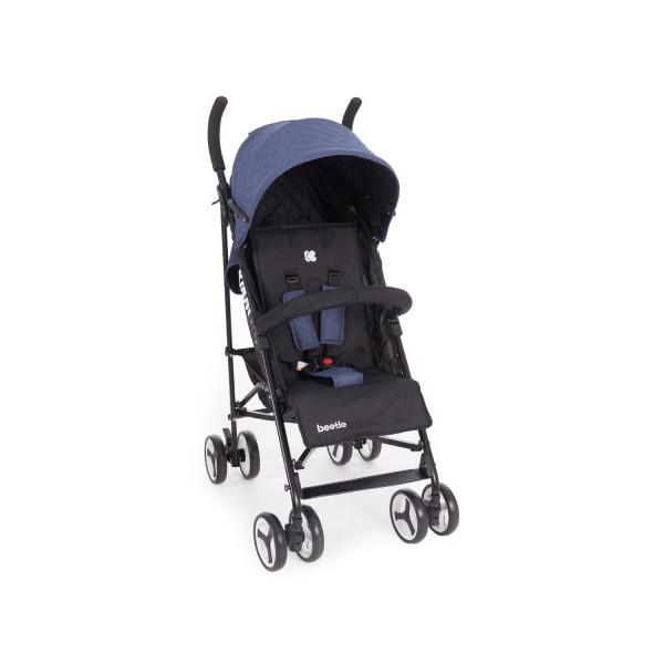 Kikkaboo Бебешка лятна количка Beetle Blue