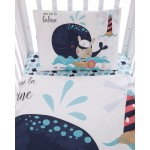 Бебешки спален комплект 3 части Happy Sailor