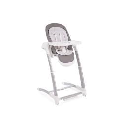 Kikkaboo Бебешка люлка/столче за хранене 3в1 Prima Grey